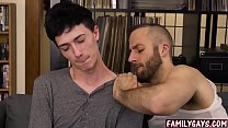 Step Dad And Son Gay Sex And Massage