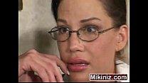MILF Holly Body Brunette teacher thumbnail