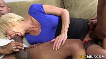 Busty Cougar Erica Lauren Squirts On BBC thumbnail