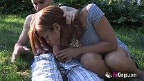 the saleswoman and her exhibitionist habits. sasha messes around madrid.   aangeleyes thumbnail