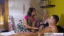Babes - Step Mom Lessons - Fair Maiden  starring  Kai Taylor and Vicky Love and Zazie Skymm clip thumbnail