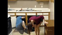Image: girl seducing plumber