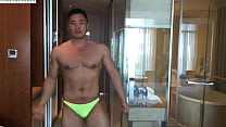 Asian Male Model Masturbating - Tony