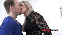 Street Sluts Gina Gerson & Ria Sunn picked up & Anal fucked together thumbnail