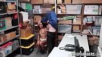 Hot Latina Teen Shoplifter Esperanza Del Horno Stripped & Analised Preview