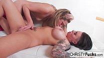 Hot Voyeur Brunette Christy Mack image