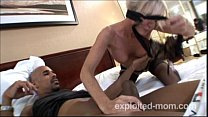 Mature milf taking a big black cock in Hot Mom Porn Video preview image