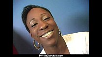 Free download video bokep Ebony backs her booty all the way to the gloryhole 8