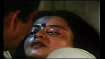 Hot Romantic scene of  REKHA  video