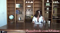 Busty Babe Arielle Makes Puma Swede Her Sex Toy! - 9Club.Top