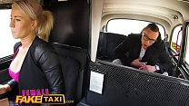 Female Fake Taxi Bored busty driver swaps fare for hot taxi fuck thumbnail