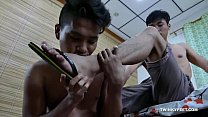 Andrew and Russel Foot Fetish Raw Fuck