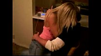 Hot Little Blonde Grinding On Her Boyfriend