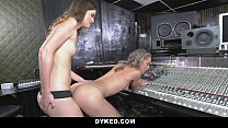 Dyked - Horny Lesbian Producer Seduces Teen preview image