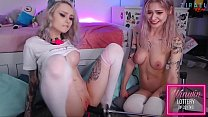Lesbian Webcam Girls Using Fuck Machine Zzzirael