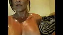 Brazilian MILF masturbates until she squirts taken from www.Mysluttycams.com