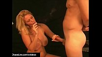 Cigar Smoking Milf Charlee Chase Orders BoyToy To Lick Cunt!
