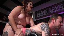 Fat mistress anal fucks alt slave