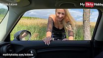 MyDirtyHobby   Blonde Hitchhikes For Sex And Ge