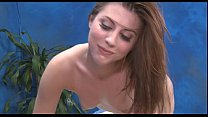 Tattooed angel  moans with passion ion