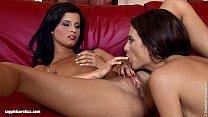 Leggy Oralists by Sapphic Erotica - Anastasia and Megan hot lesbian lovemaking