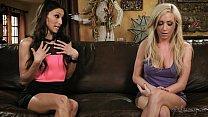 Sex with a super hot robot? - Celeste Star, Hillary Scott porn thumbnail