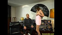 Cute mommy gets hard fucked her mouth and sweet pussy Vorschaubild