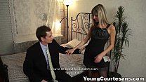 Young Courtesans - Dressed up Gina Gerson for a...