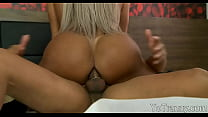 Big breasts shemale gets her anal pounded by hard dick