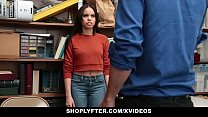 Shoplyter - Hot Teen Caught Stealing and Offere...