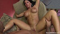 MILF Kendra Secrets Couch Fucked In Chat Studio