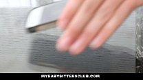 MyBabySittersClub - Blde Teen Babysitter Helps Me Cum - 9Club.Top