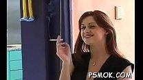 Smokin' and having some pleasure pornhub video