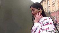 German Scout - Teeny Loren Minardi bei Casting Anal gefickt thumbnail