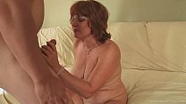 Cock thirsty milf in a wild sex tape preview image