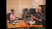 Teen Gives Her Daddy A Foot Job