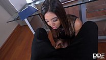 Hot Milf secretary Frida Sante's got a craving ...