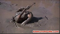 Outdoor BDSM Mud Slave Disgrace thumbnail