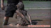 Outdoor BDSM Mud Slave Disgrace thumbnail