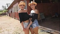 Ranch girls amateur threesome