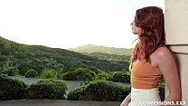 Natural Tits Lacy Lennon Is A Redhead Nympho Co...