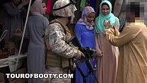 TOUR OF BOOTY - Operation Pussy Run with Soldiers In The Middle East!