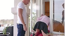 Father playmate's daughter sleep over first time Forgetful Stepsis