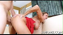 Sex addicted mama in a hot action
