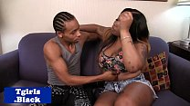 Black transsexual pounded doggystyle