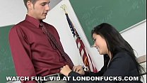 Big Tit Asian London Keyes Fucked After Class preview image