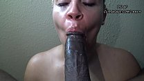 10129 Huge Facial For Pretty Redbone After Sloppy Head- DSLAF preview