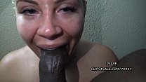 16174 Huge Facial For Pretty Redbone After Sloppy Head- DSLAF preview