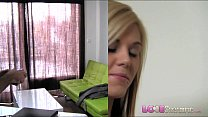 Love Creampie Young cute skinny blonde amateur takes big cock in office Preview