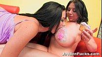 Jayden Jaymes Big Boob Lesbian Fun thumb